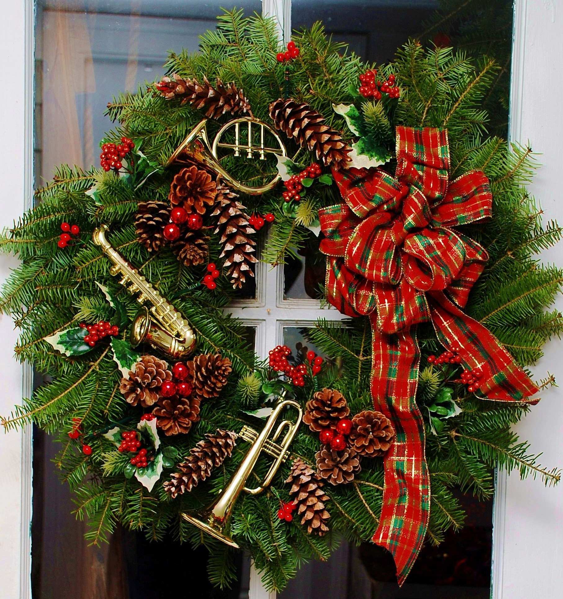 Images Of Christmas Wreaths | New Calendar Template Site